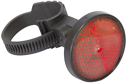 Reflektor hinten rot